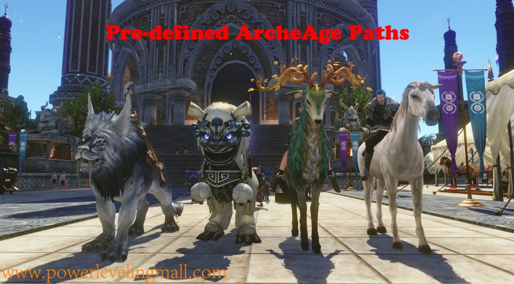 Archeage Paths
