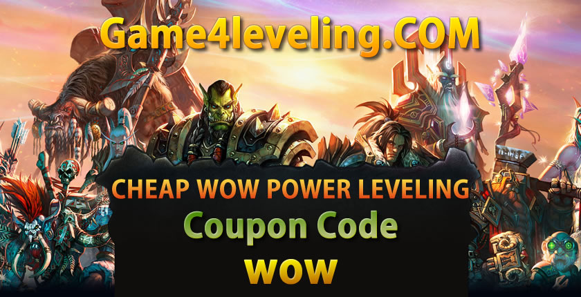 Cheap WoW Power leveling Coupon